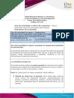 Guía de Actividades y Rúbrica de Evaluación - Unidad 1 - Paso 2 - Desarrollar Ejercicios Propuestos Sobre Ángulos