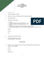 03-07-11 Agenda