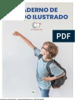 CADERNO DE DITADO ILUSTRADO