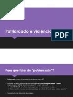 Cecilia Vieira - PPT Patriarcado e Violência