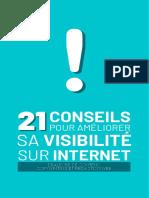 21 conseils pour améliorer sa visibilité sur Internet