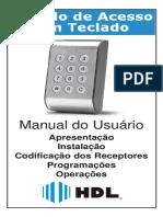 Manual 60.03.02.229-r4 Modulo de Acesso Com Teclado