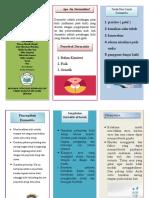 leaflet Dermatitis cuy