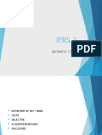 Ifrs 3 - Business Combinationf