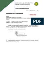 OF. MÚLT 042 VRAC - REMITO CALENDARIO ACADÉMICO 2020-II
