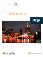 Legal One - Manual Novajus - Tabelas Do Sistema