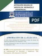 ADMINISTRACIÓN DE MEDICAMENTOS EN NEONATOS Y PEDIATRICOS