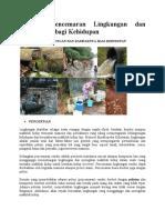 Pencemaran Lingkungan dan Dampaknya bagi