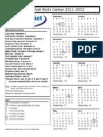 2011-12 NMSC Calendar