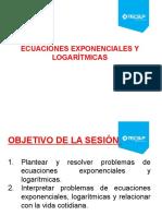 Ecuaciones Exponenciales, Logaritmicas y Funcion Exponcial Semana 6