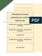 ejemplo informe final auditoria