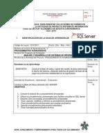 GUIA DE APRENDIZAJE No.  5   PROCEDIMIENTOS ALMACENADOS1 (1)