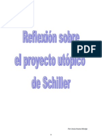 Reflexión sobre el proyecto utópico de Schiller