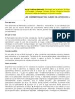 INFORME - Negociación Colectiva y Conflictos Laborales
