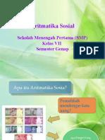 Power Point Aritmatika Sosial (1)