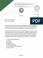 Honolulu Police Commission's statement on Chief Ballard