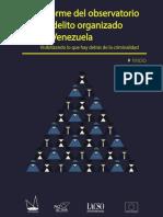 Informe Delito Organizado en Venezuela V1