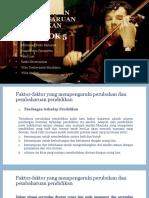 Perkembangan dan Pembaharuan Pendidikan