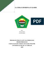 EXPERT JUDGEMENT MODUL PELATIHAN BIMBINGAN KARIR - M Fiqri Fadilah (Bapak Dr. Rony Setiawan)