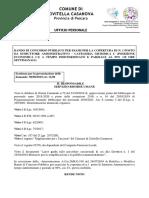 Bando Istruttore Amministrativo Allegato Det.n.199