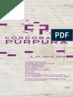 Programa 'Córdoba en Púrpura'