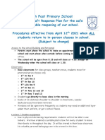 appendix 10 - covid 19 proceedures april 12th 2021 - all students return to school