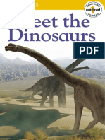 DK Meet The Dinosaurs