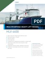 Eemslift Hendrika Heavy lift vessel / Ship