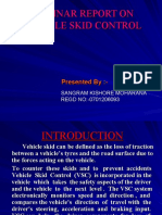 Vechile Skid Control