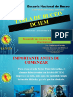 TUTORIAL Tabla DCIEM del ADVANCED en DIAPO 2020v03