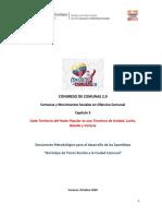 METODOLOGÍA PARA LA CONTINUACIÓN DE LOS DEBATES_CONGRESO DE COMUNAS 2-0