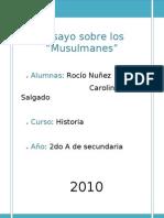 ....Musulmanes.....