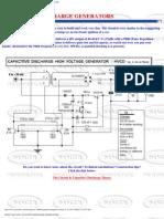 Capacitive discharge generators