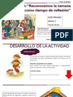 SESION DE SEMANA SANTA 31-03