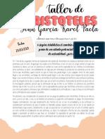 TALLER DE ARISTÓTELES 10°3 pnf