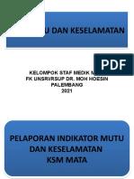 Indikator Mutu Suacabdivisi Rekonstruksi Jan 21-Mar 21