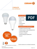 Datasheet - LED SUPERSTAR ALTA POTÊNCIA E27
