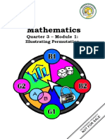 Quarter 3 Module 1 Permutation