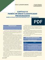 Capítulo III Painéis em áreas classificadas Pressurizados