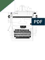 la maquina de escribir