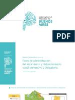 Las fases de aislamiento en la provincia de Buenos Aires
