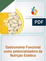 gastronomia funcional -nutrição estética
