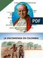 La encomienda en Colombia
