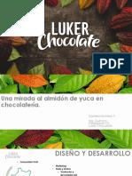 Una Mirada al almidon de yuca en chocolateria