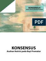 Konsensus Asuhan Nutrisi Prematur