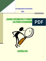 CONTROLE  APD-DCE