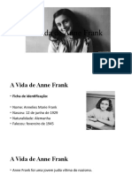 A Vida de Anne Frank