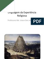 Linguagem Da Experiência Religiosa