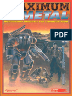 Cyberpunk 2020 - Maximum Metal