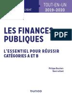 (1) Philippe Boucheix, René Juillard - Les Finances Publiques 2019-2020 - L'Essentiel Pour Réussir - Catégories a Et B-Dunod (2019)